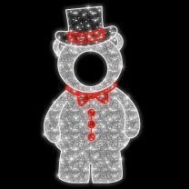 7.5' 2D LED Papa Bear - Photo Op Display