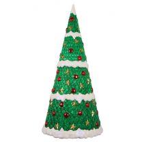 7' Fiberglass Christmas Tree