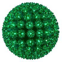 "Pro Christmas™ 10"" Sphere - 150L - Green"