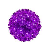 """Pro Christmas™ 6"""" Sphere - 50L - Purple"""