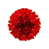 """Pro Christmas™ 6"""" Sphere - 50L - Red"""