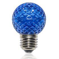 G50 LED Retrofit Bulb - Blue - E26 Base - Minleon - Bag of 10