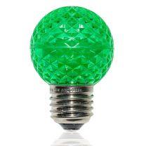 G50 LED Retrofit Bulb - Green - E26 Base - Minleon - Bag of 10