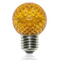 G50 LED Retrofit Bulb - Yellow - E26 Base - Minleon - Bag of 10