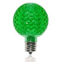 G50 SMD LED Retrofit Bulb - Green - C9 Base - Pro Christmas™ - Bag of 10