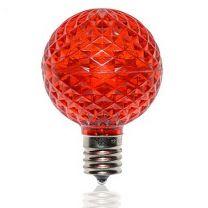 G50 SMD LED Retrofit Bulb - Red - C9 Base - Pro Christmas™ - Bag of 10