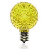 G50 SMD LED Retrofit Bulb - Yellow - C9 Base - Pro Christmas™ - Bag of 10