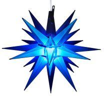 led blue moravian star