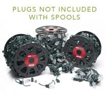 "LITE-NETICS C7 Cord Green Wire - 12"" Spacing - SPT-1 - 250'"