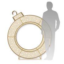 4' 3D LED Ring -  Warm White