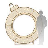 7' 3D LED Ring -  Warm White