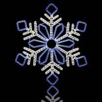 "48"" Winter Snowflake"