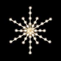 """Arctic Star Burst 36"""", 45 Bulbs, LED"""