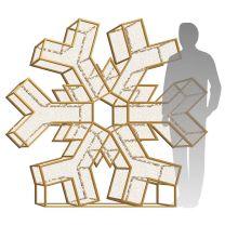 6' LED Snowflake Icon - Radiant - Warm White
