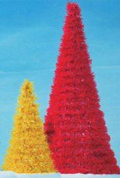 15' Full Round Spiral LED Fantasy Tree 1-14304-LED