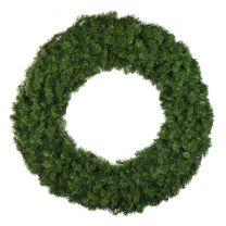 "60"" Unlit Deluxe Oregon Fir Wreath - Bow Option Available"