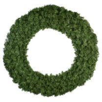 "72"" Unlit Deluxe Oregon Fir Wreath - Bow Option Available"