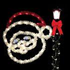 5' Jolly Santa, LED