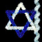 6' Star of David, LED