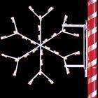 3' Silhouette Arctic Snowflake, LED