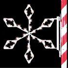 3' Silhouette Crystal Snowflake, LED