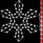 5' Silhouette Northwest Snowflake, LED