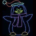 8' Penguin Dad, LED
