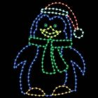 8' Penguin Mom, LED