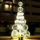 21' Grand Illuminated LED Sculpture Tree