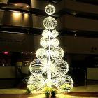 14' Grand Illuminated LED Sculpture Tree