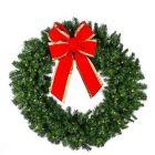 "60"" Deluxe Oregon Fir Wreath Lit"