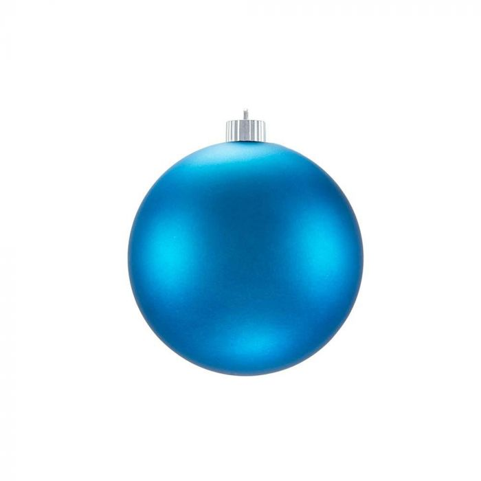 Matte Christmas Ornaments Teal