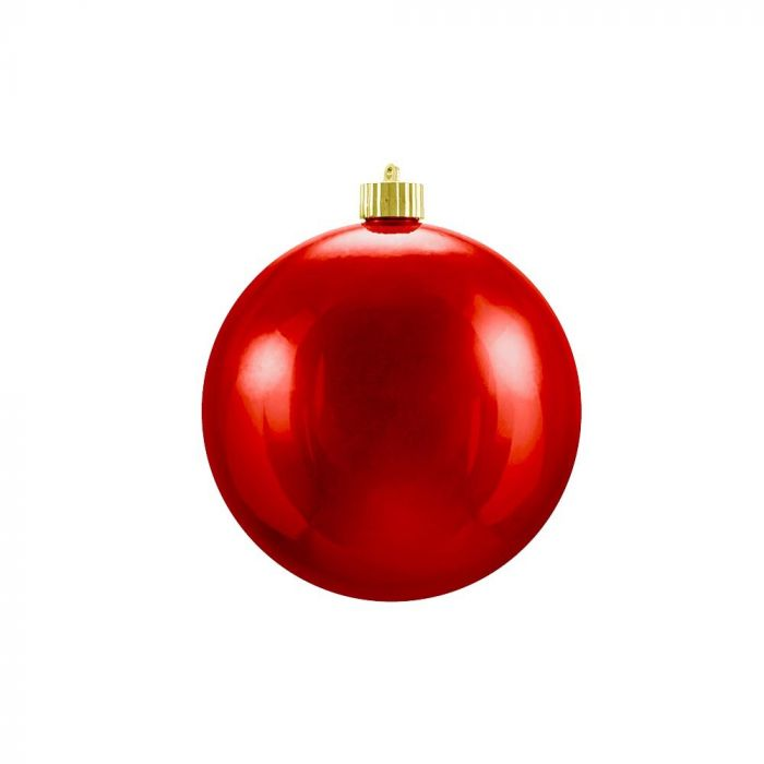 Shiny Christmas Ornaments Red