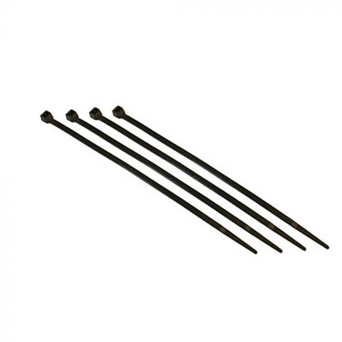 Black Zip Ties >> 4 Black Zip Ties Bag Of 100