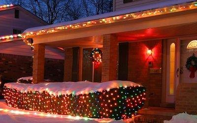 How Long Do You Leave Christmas Lights Up?