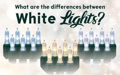 What is the Difference Between the Types of White LED Christmas Lights?