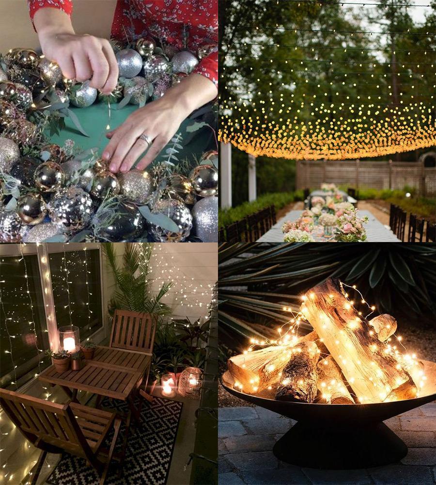 Fairy Light for Fall Décor DIYs