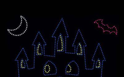 LED Christmas Lights for Halloween? Absolutely!