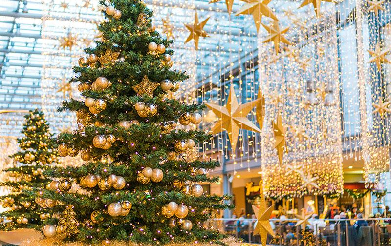 Shopping Center Commercial Christmas Decorations Matter
