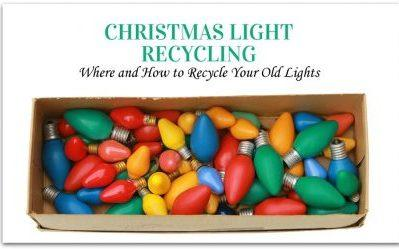 Christmas Light Recycling: Where and How to Recycle Your Old Lights