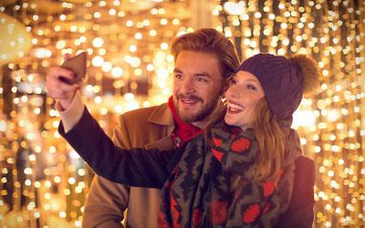The Social Media Benefits of a Jaw-Dropping City or Commercial Christmas Displays