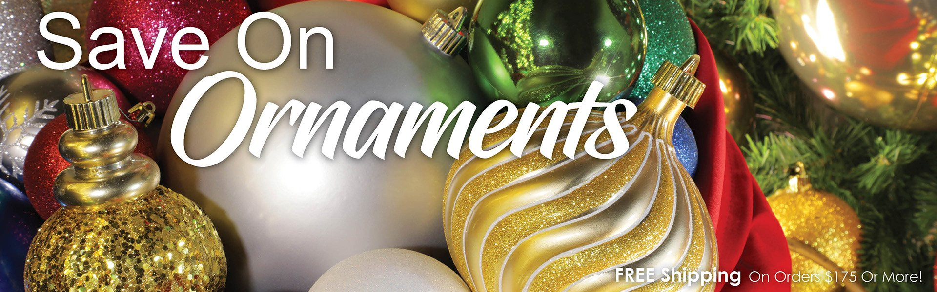 Save on Ornaments