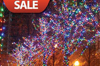 Incandescent Christmas light sales and clearance items