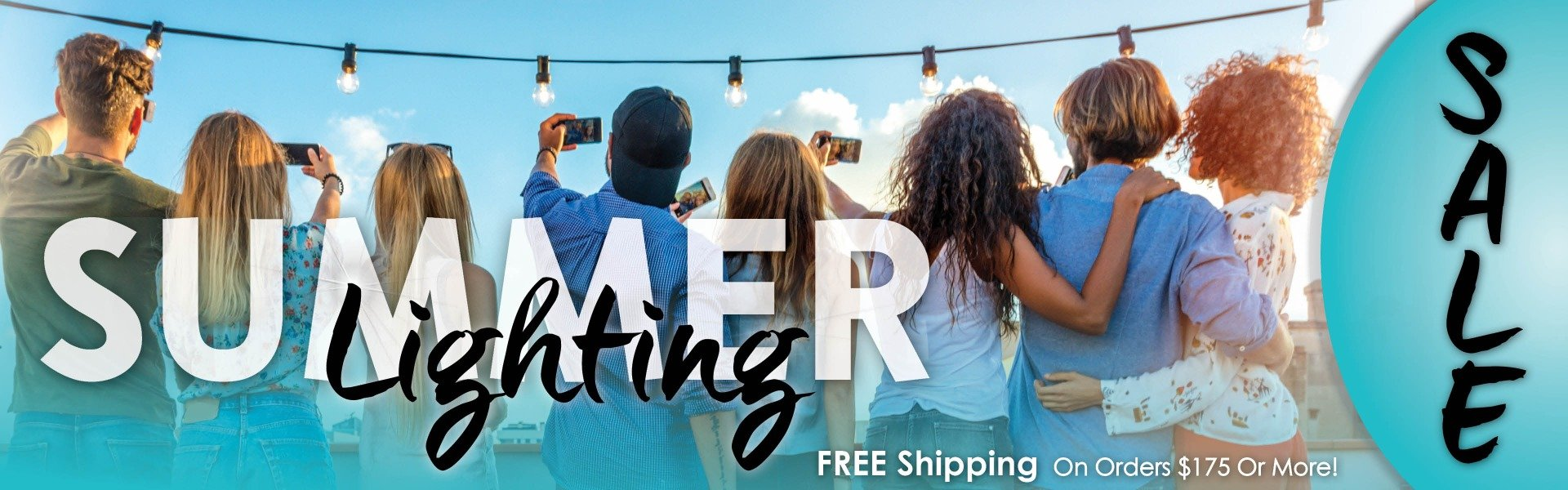 Summer Lightings Free Shipping on Orders of $175 or More