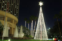 Commercial Tree of Lights