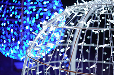 Foldable LED Spheres