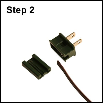 prepare zip and plug