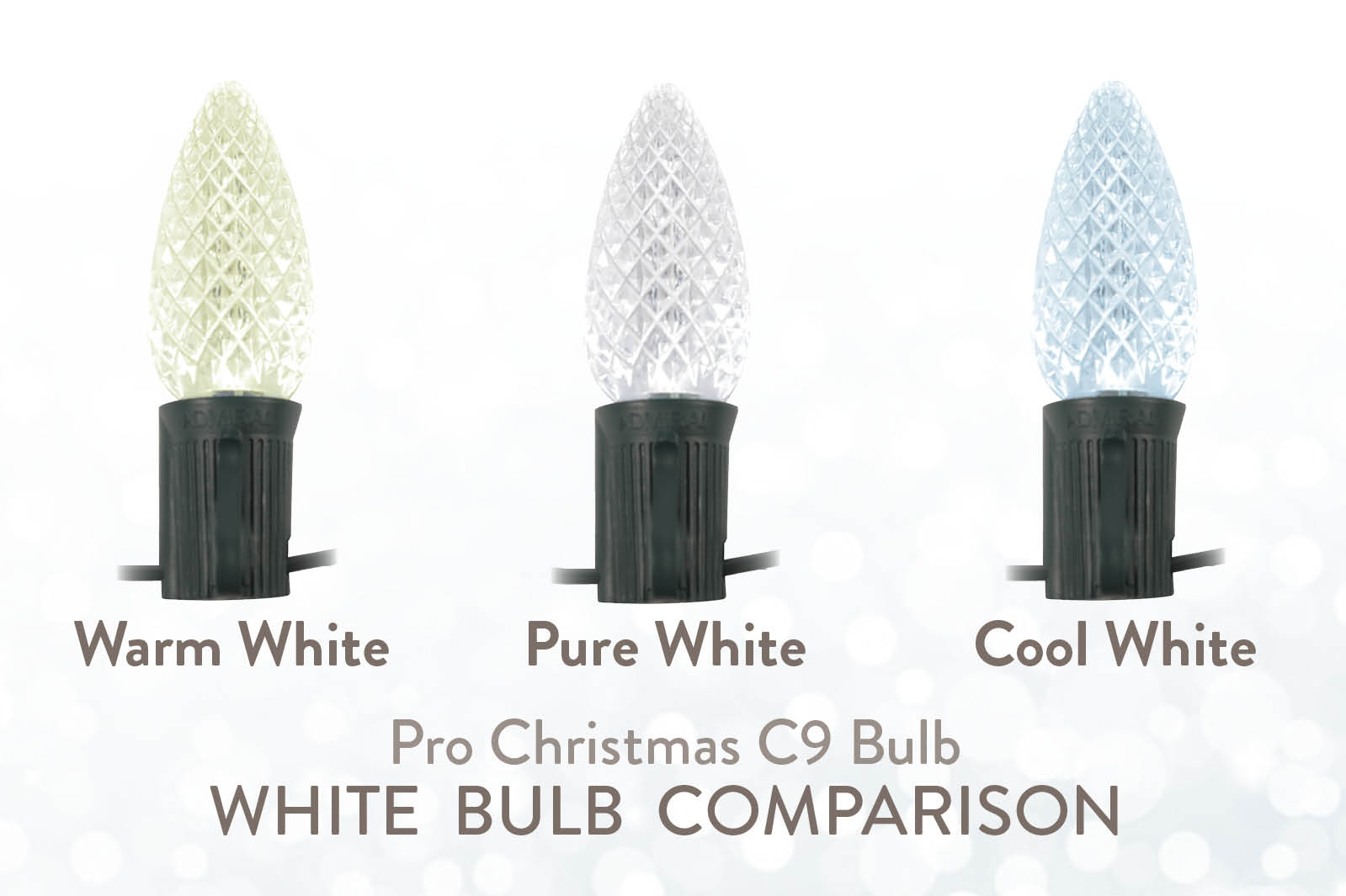 Understanding White LED Christmas Lights