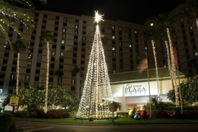 Commercial Outdoor Light Tree