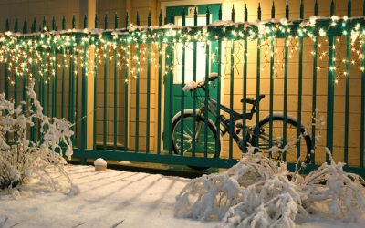 LED Icicle Lights Aren't Just for Christmas
